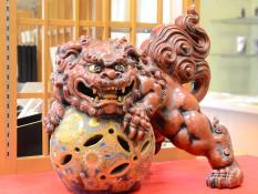九谷焼の唐獅子